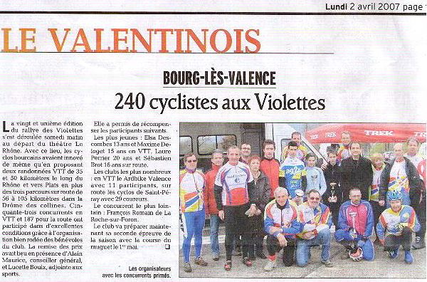 2007 – Les Violettes