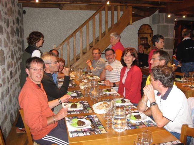 2007-  Repas au Gite