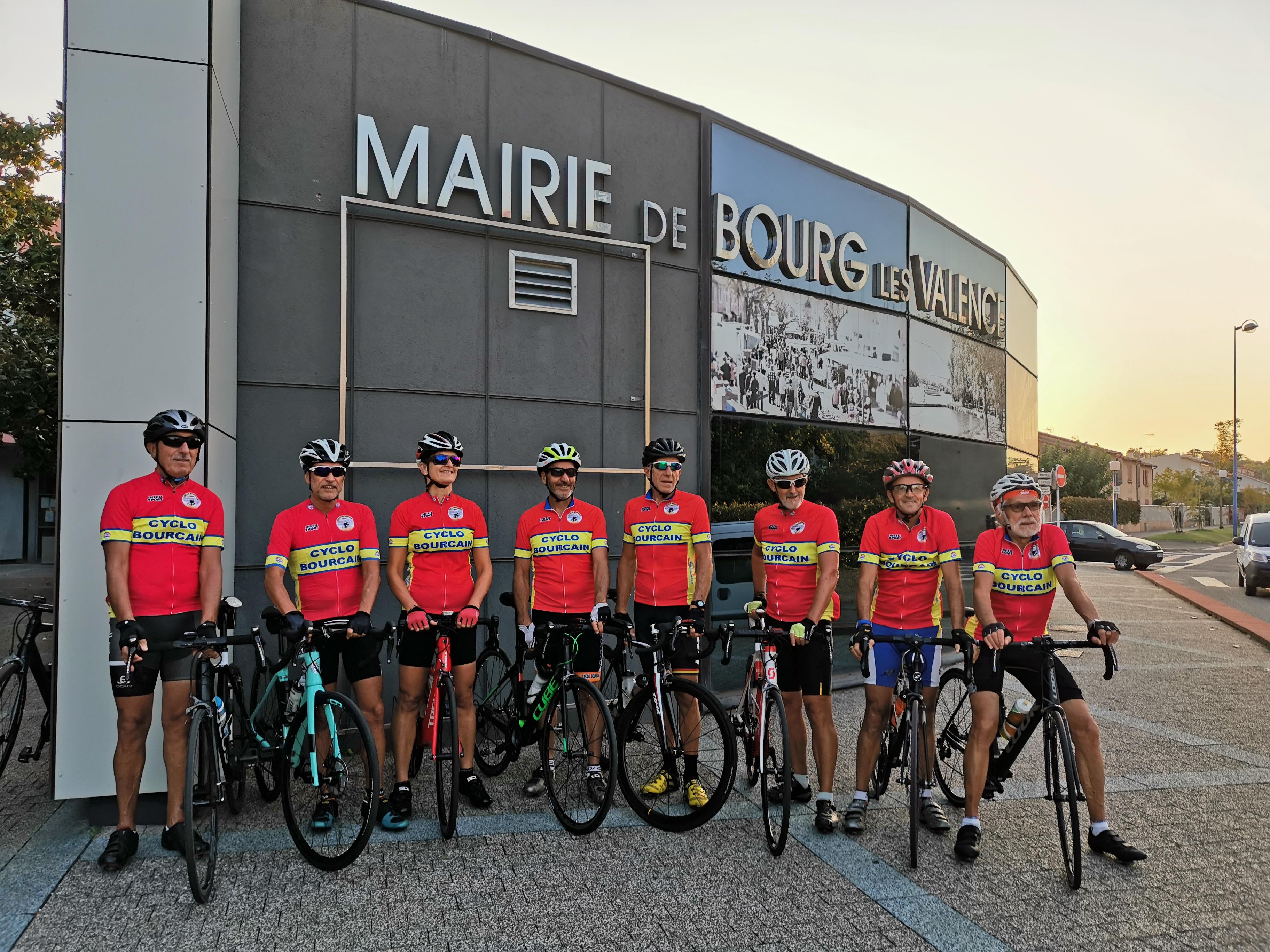 equipe cyclo bourcain